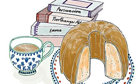 Breakfast: Jane Austen's pound cake