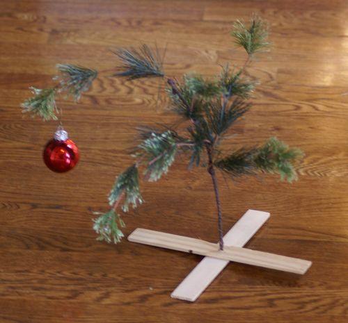 Bare christmas tree 2