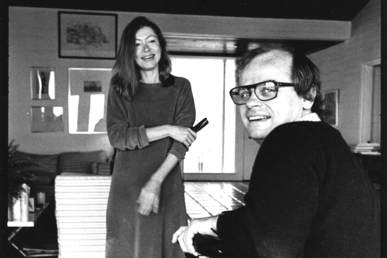 Joan Didion and John Gregory Dunne, Trancas, California, March 1972