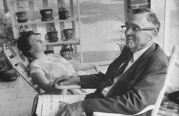 Harper Lee e suo padre A.C.