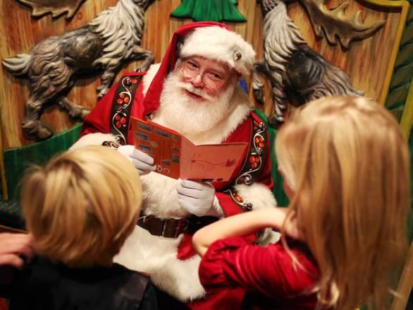Babbo Natale e bambini