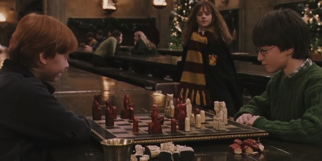 Ron-and-Harry-Wizard-Chess